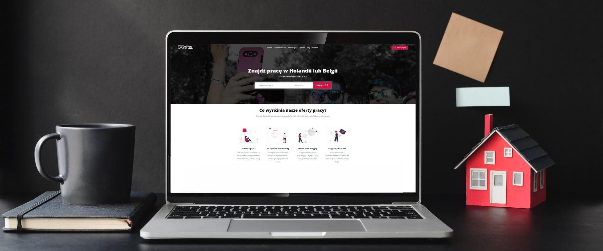 pewna agencja pracy w Holandii i Belgii | PrismaWorx